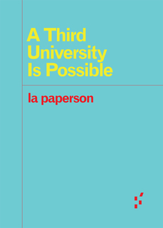 Click to view A Third University Is Possible